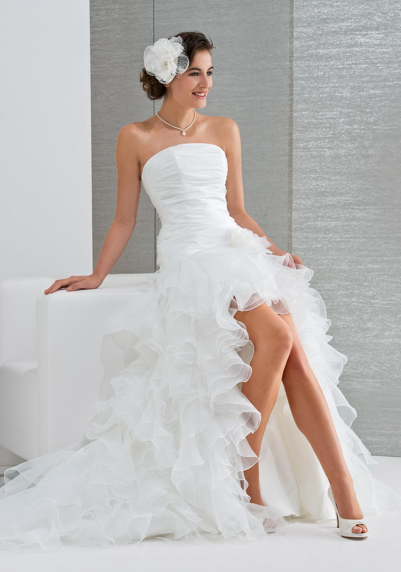Osez la robe de mariée courte pour votre mariage