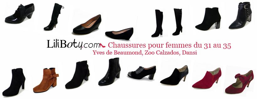 Des chaussures de qualité en petites pointures pour femme