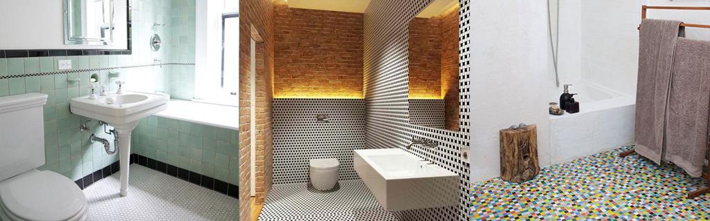 mosaique pour la salle de bain