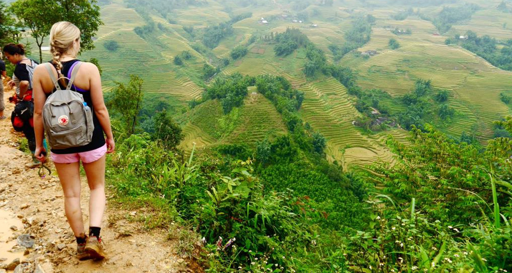 Trek au Vietnam.
