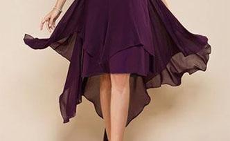 Que pensez de la robe de soirée courte devant et longue derrière ?