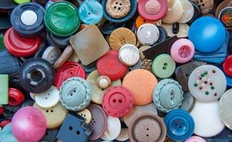 Des idées de créations avec les boutons en bois