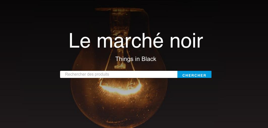 Le nouveau site All in Black