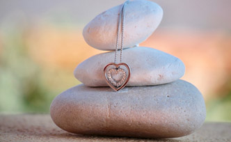 Sélection de bijoux pour femme : Bijoux cœur